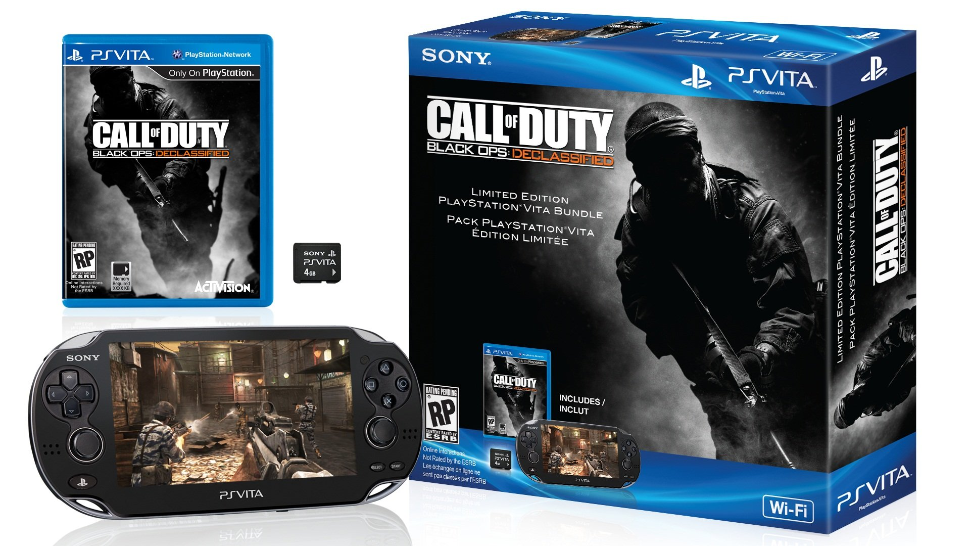 Sony PlayStation Vita Call of Duty Black Ops Declassified Bundle Pack