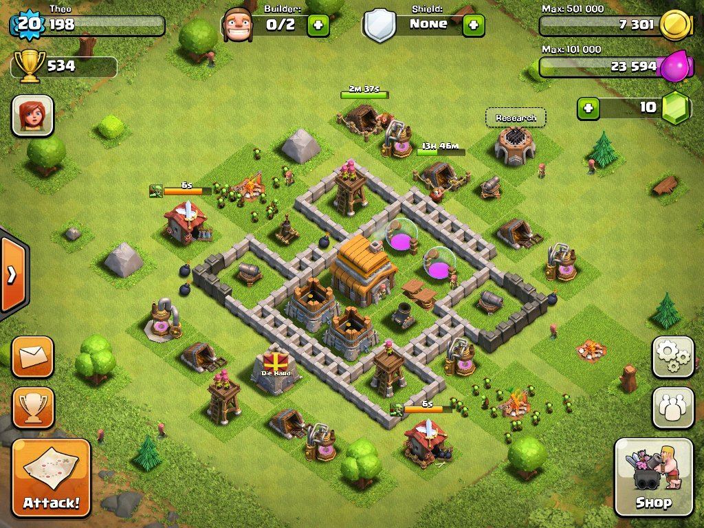 Clash of Clans Early Defense Strategy