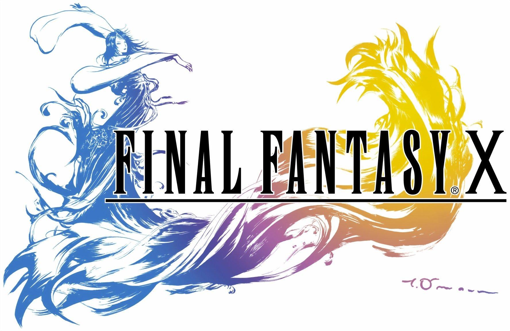 Final Fantasy X FFX HD Logo PS Vita