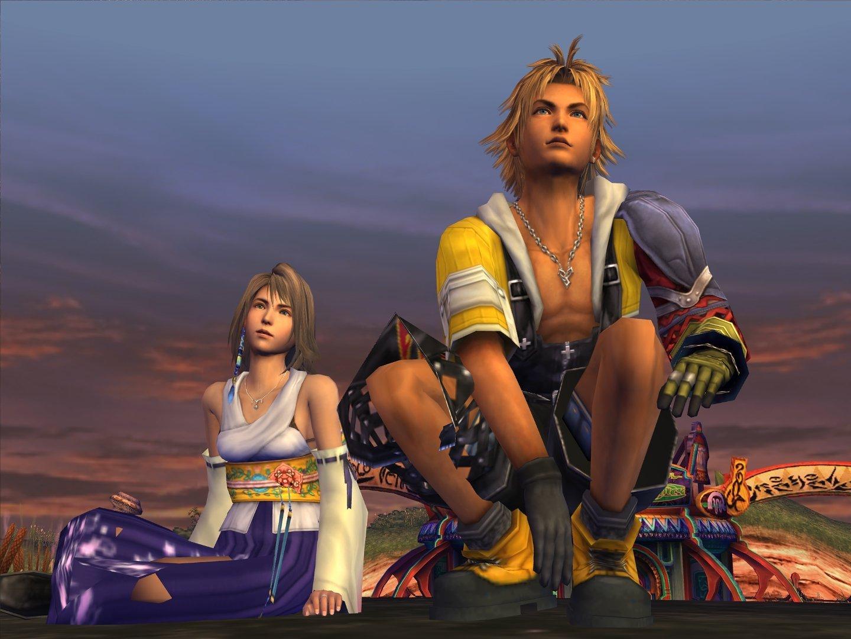 Final Fantasy X FFX HD Yuna Tidus PS Vita