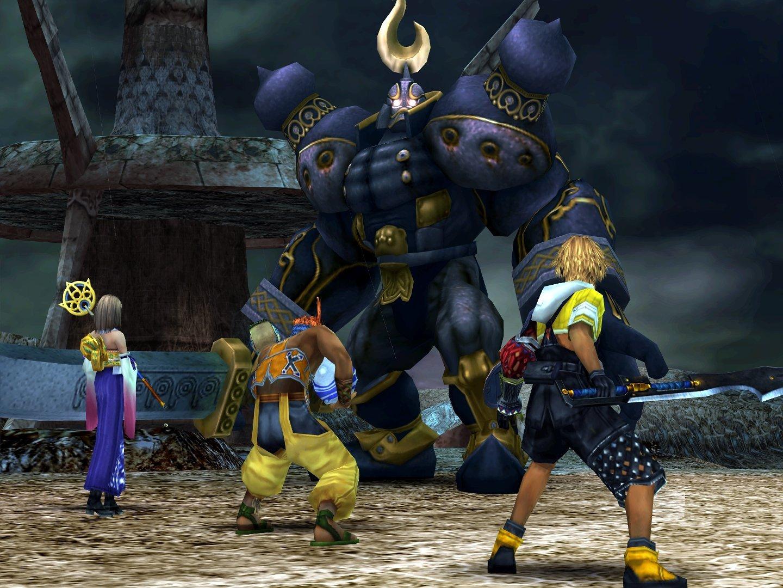 Final Fantasy X FFX HD Iron Giant PS Vita