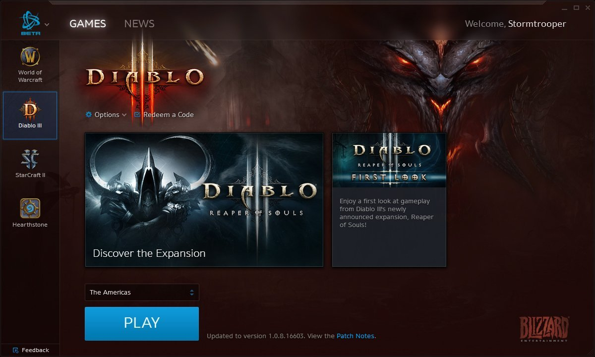 Battle.net Desktop App - Diablo III