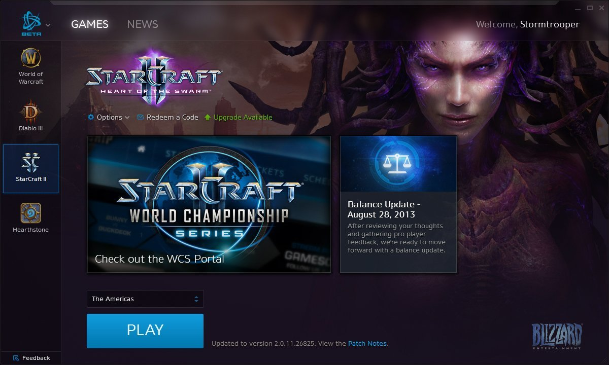 Battle.net Desktop App - StarCraft II