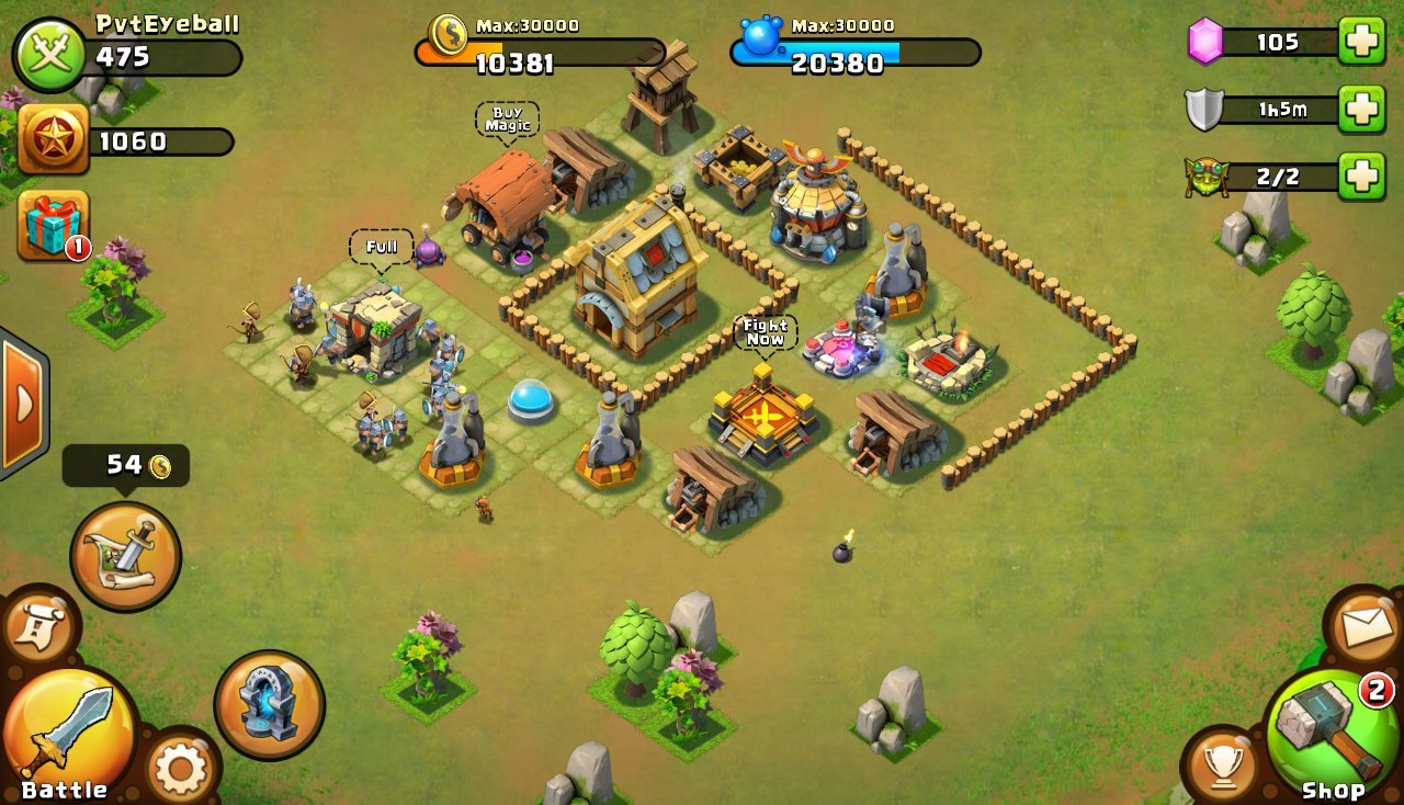 Castle Clash Defense Screenshot