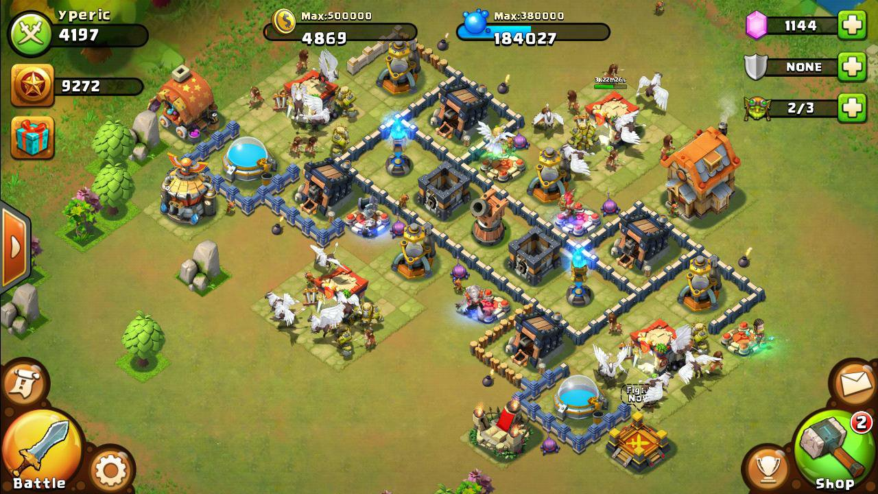 ... android apps amp games on brothersoft com play castle clash on pc with