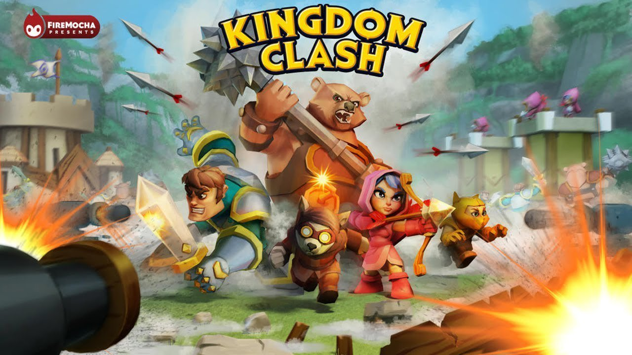 Kingdom Clash Title Screen Wallpaper