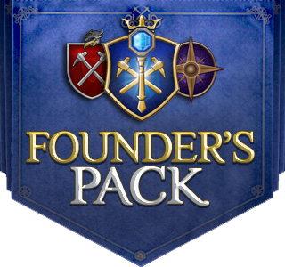 EverQuest Next Landmark Founder's Pack Flag Logo