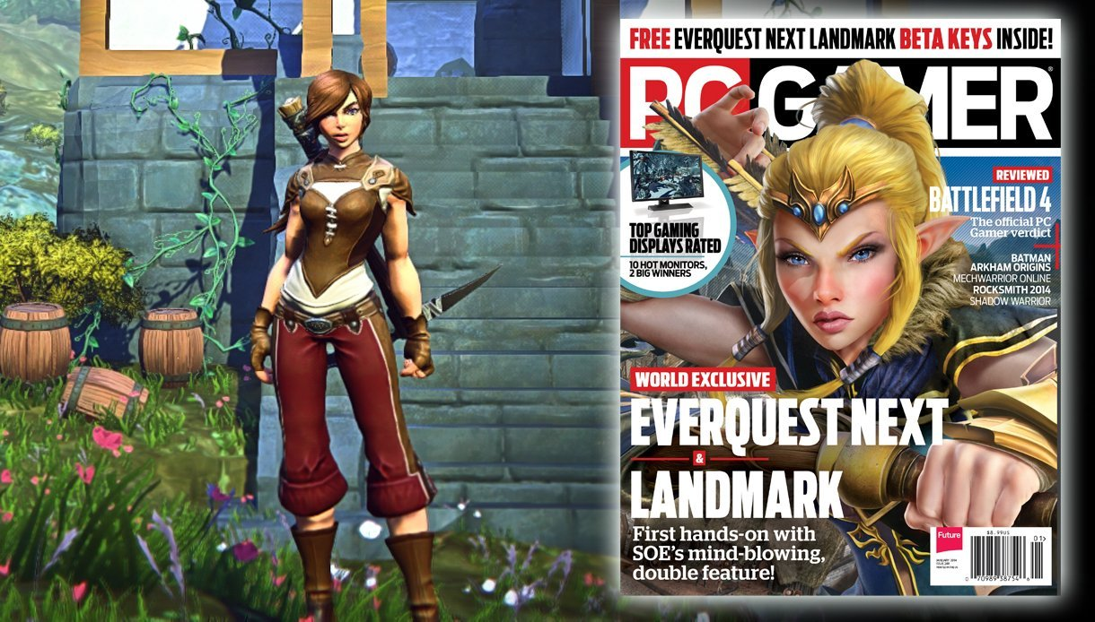 PC Gamer January 2014 EverQuest Next: Landmark Issue