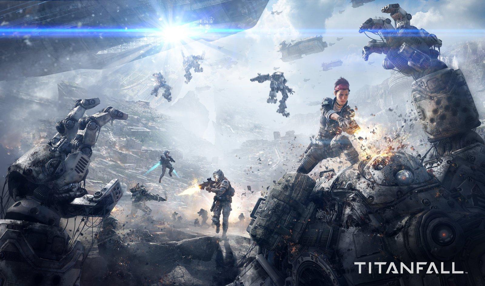 Titanfall Game Informer Magazine Cover Art