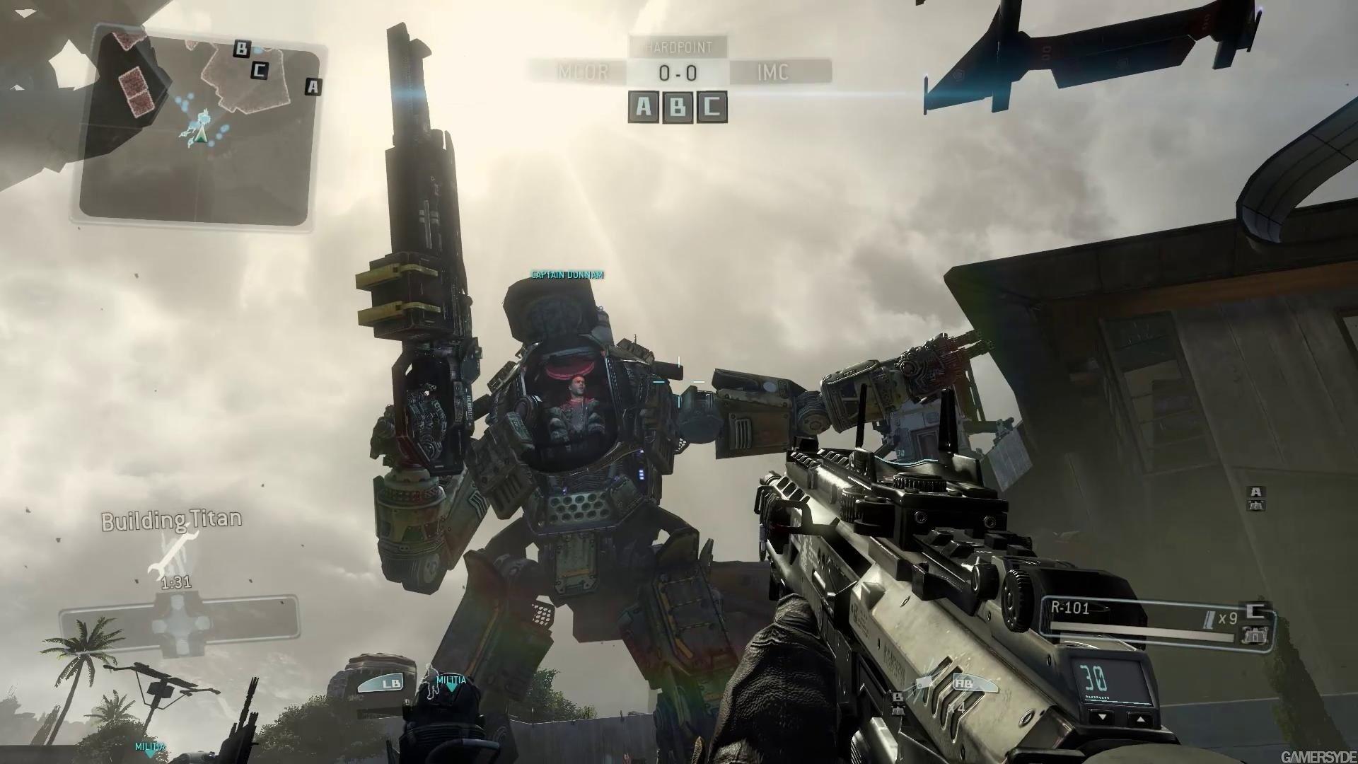 Titanfall Screenshot Titan